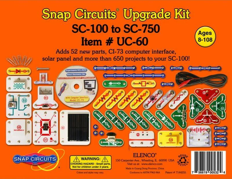 UC-60 - Upgrade Kit SC100 to SC750.
