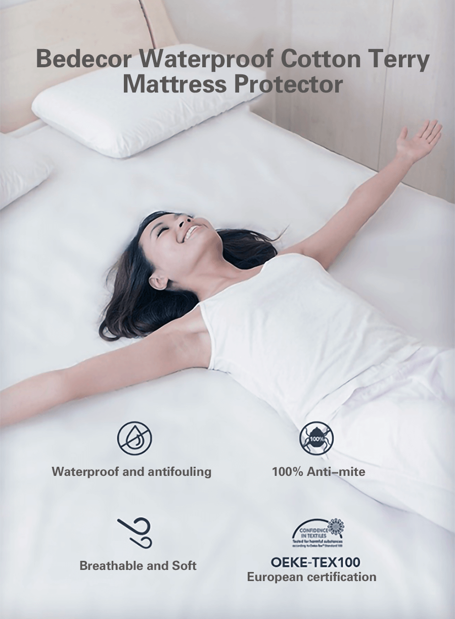 The purple best mattress protector protects against bed bugs, allergens, dust, and the purple best mattress protector also protects your health