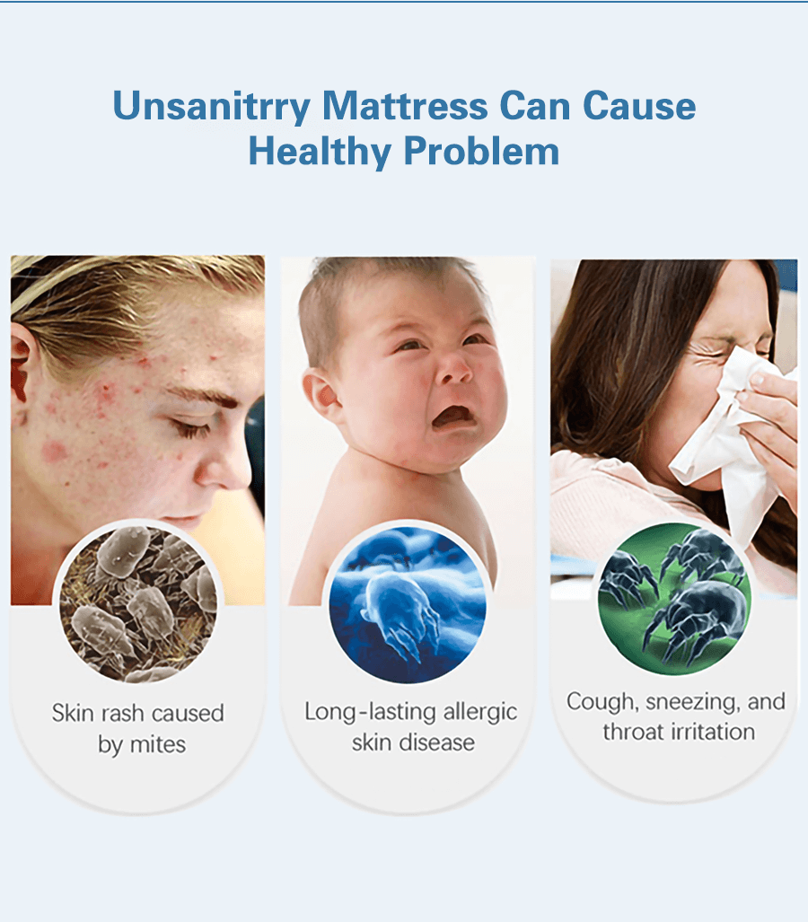 The purple best mattress protector will treat your skin gently and give you a comfortable sleep