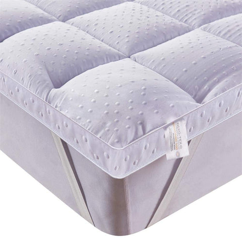 The down alternative filling of the best mattress topper