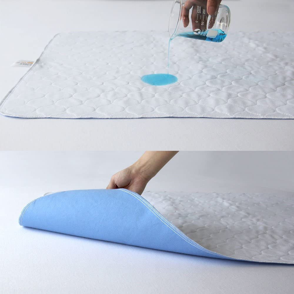 the absorbent bed pads incontinence is soft to the touch