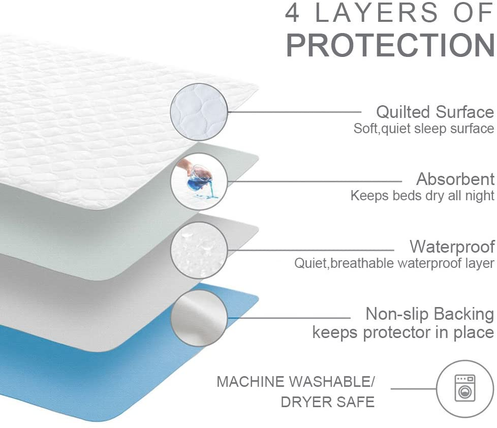 1600ml absorbency absorbent bed pads incontinence to deal with unexpected situations in your life