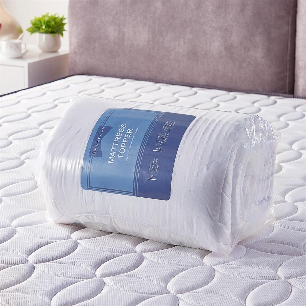 quilting design can fix the padding of mattress pillow topper