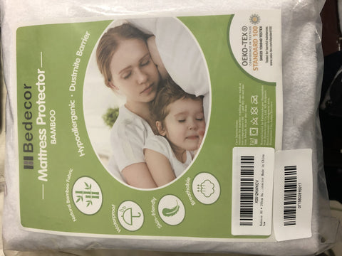 Bedecor Bamboo Mattress Protector