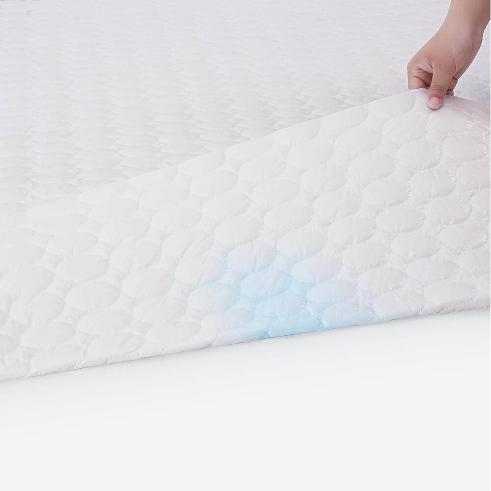 Waterproof Quilted Fitted Mattress Pad
