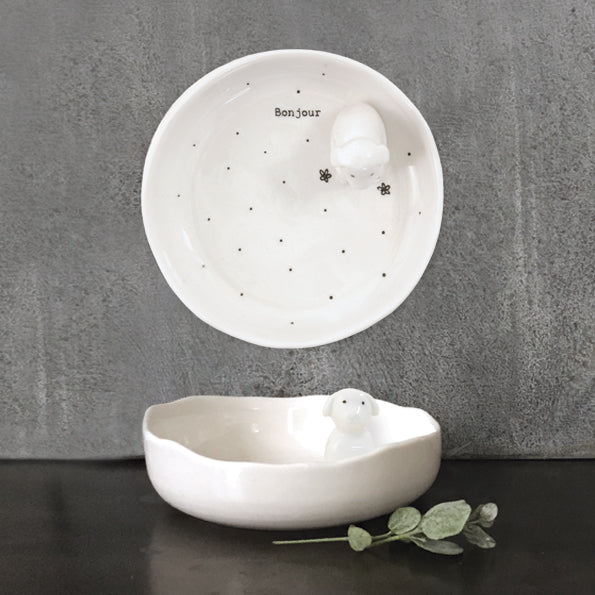 East Of India: Jewellery dish - Bonjour