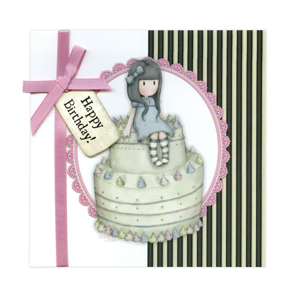 Santoro - Gorjuss Greetings Card Happy Birthday!