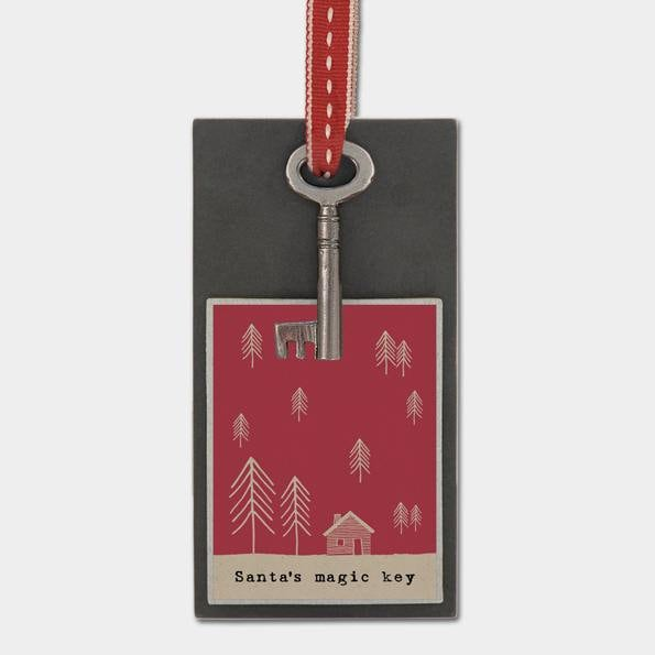 East Of India: Gift Token - Metal key - Santa's magic key