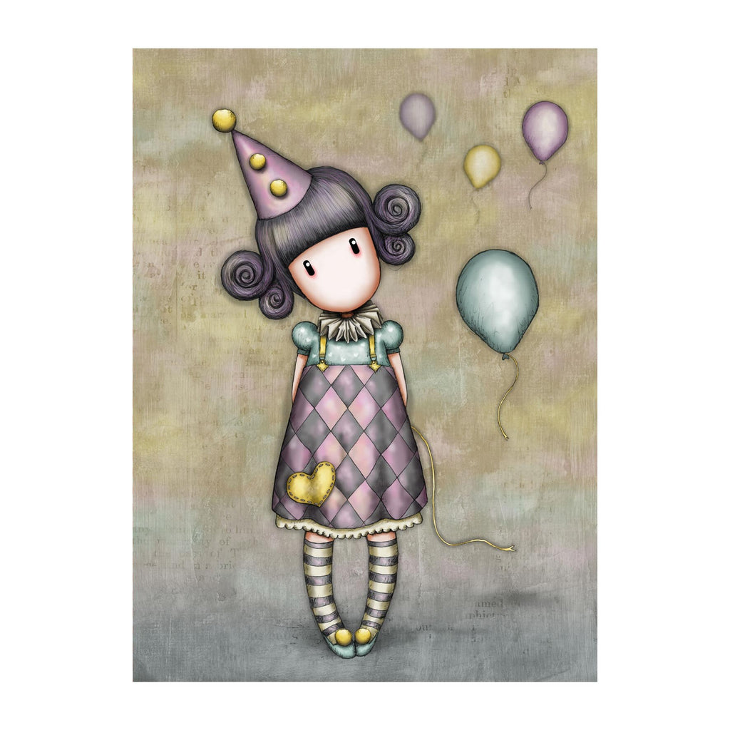 Santoro - Pierrot Doll Greeting Card