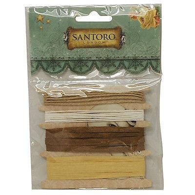 Santoro - Mirabelle Collection: Jute & Raffia String Set