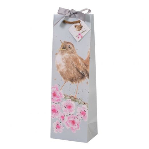 Wrendale Designs - 'Garden Birds' bottle bag