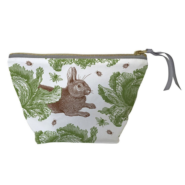Thornback and Peel - Rabbit & Cabbage Cosmetic Bag - Small