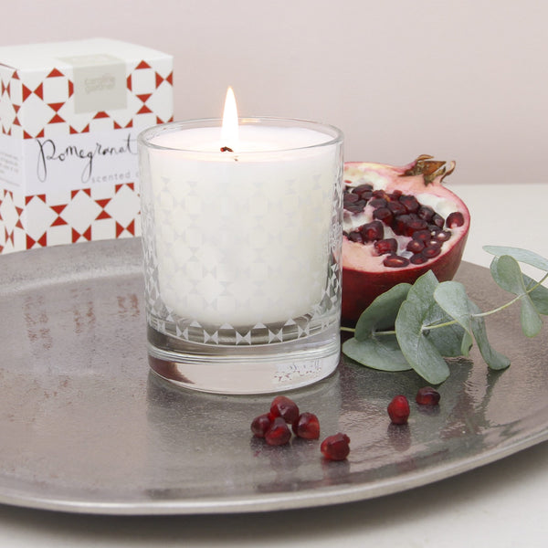Caroline Gardner - Boxed Pomegranate Candle