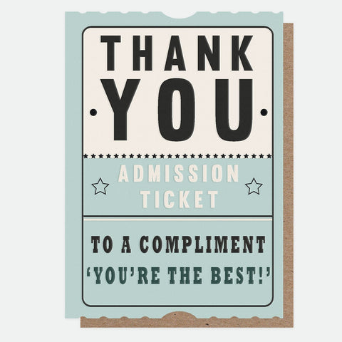 Caroline Gardner - Thank You - Greetings Card