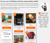 Do you use a Cafetiere and buy supermarket coffee?