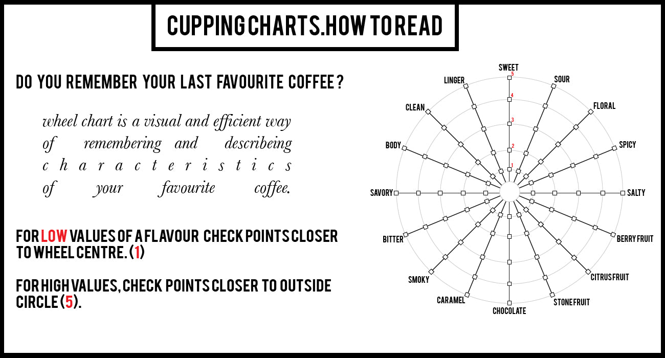 Artisan Roast Cupping Charts The Coffee Roasters