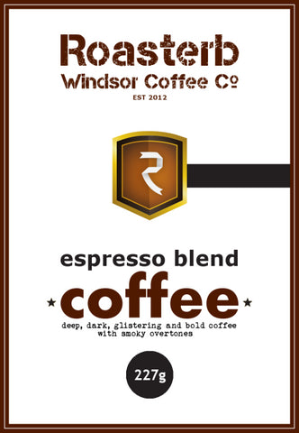 RoasterB Espresso Blend Coffee - Premium First Crop 100% Arabica