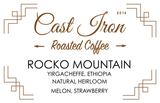 Cast Iron Coffee Roasters: Ethiopia, Rocko Mountain, Natural