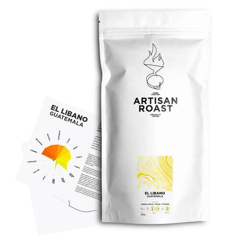 Artisan Roast - El Libano - Light - Guatemala - Washed