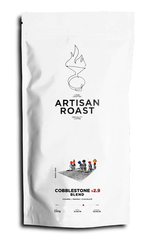 Artisan Roast: Cobblestone V2.9 juicy espresso blend