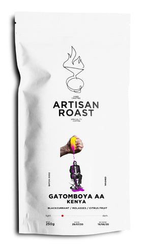 Artisan Roast: Kenya, Gatomboya Factory, AA, Washed