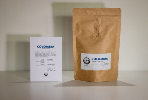 Blind Owl Coffee: Colombia, Buesaco Narino, Washed