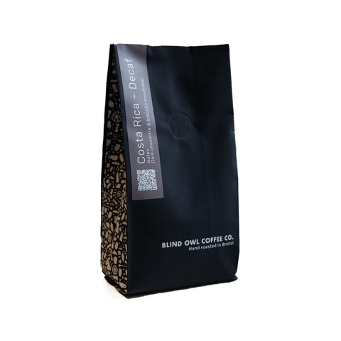 Blind Owl Coffee: Swiss Water Decaf: Costa Rica
