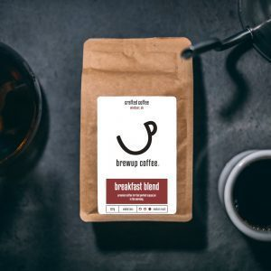 Brewup Coffee: Breakfast Blend: Whole bean