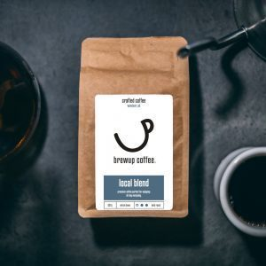 Brewup Coffee: Local Blend: Whole bean