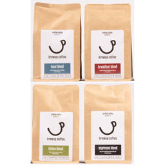 Brewup Coffee: Taster Pack 4 X 225g Bags