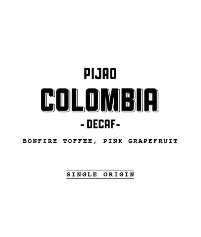 Casa Espresso - Colombia Pijao Decaf - Washed