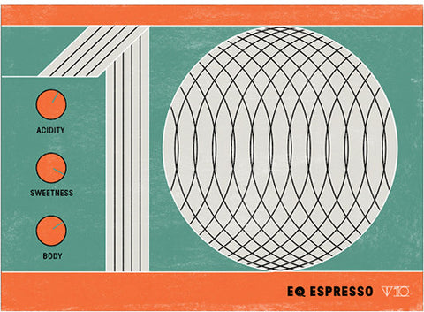 Clifton Coffee - EQ Espresso V10: Seasonal Espresso Blend