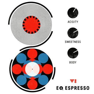 Clifton Coffee - EQ Espresso V8: Seasonal Espresso Blend