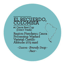 Climpson and Sons - Single Origin: El Recuerdo Microlot, Colombia