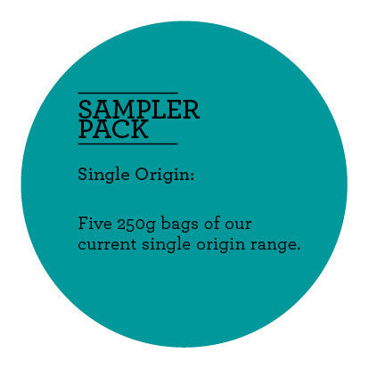 Climpson and Sons - Single Origin Sampler Pack: Filter Coffees