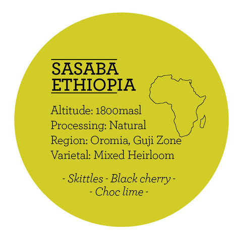 Climpson and Sons - Single Origin: Sidamo Sasaba, Ethiopia (Natural)