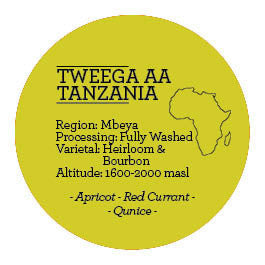 Climpson and Sons - Single Origin: Tweega AA, Tanzania