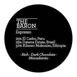Climpson and Sons - The Baron Espresso Blend 2015