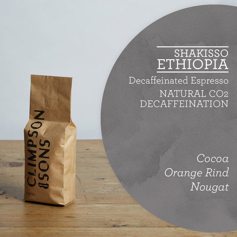 Climpson & Sons - Decaf: Shakisso, Ethiopia