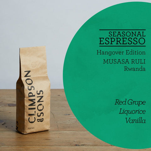 Climpson & Sons - Seasonal Espresso: Hangover Edition