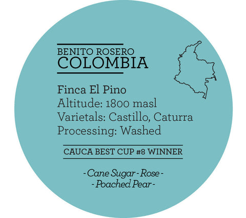 Climpson & Sons - Single Origin: Benito Roasero, Colombia