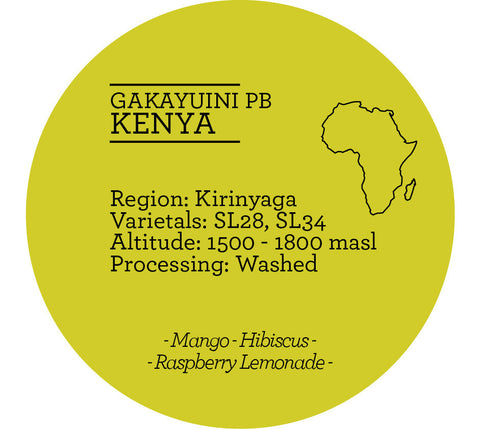 Climpson & Sons - Single Origin: Gakayuini Pb, Kenya