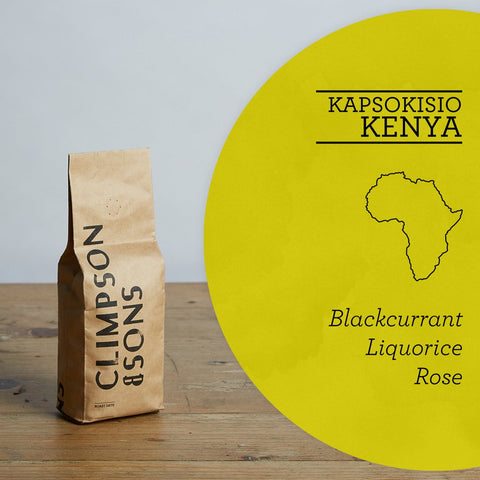 Climpson & Sons - Single Origin: Kapsokisio, Kenya