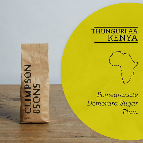 Climpson & Sons - Single Origin: Thunuguri AA, Kenya