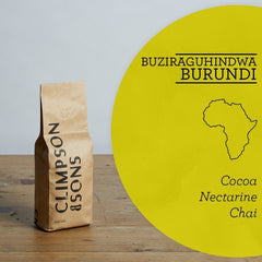 Climpson & Sons: Burundi, Buziraguhindwa, Washed