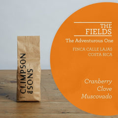 Climpson & Sons: Costa Rica, The Fields, Las Lajas Micromill, Honey Process