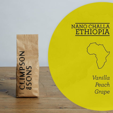 Climpson & Sons: Ethiopia, Nano Challa, Washed