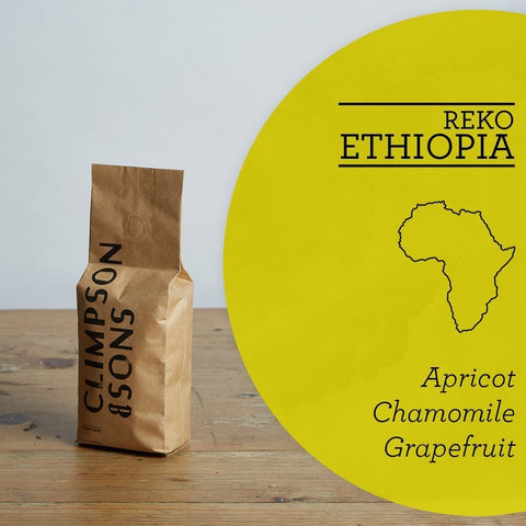 Climpson & Sons: Ethiopia, Reko, Washed