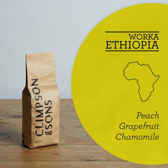 Climpson & Sons: Ethiopia, Worka Cooperative, Washed