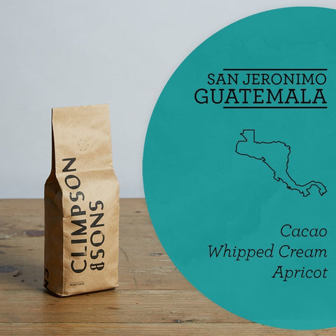 Climpson & Sons: Guatemala, Finca San Jeronimo Miramar, Honey Process